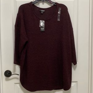 A.n.a a new approach Woman sweater NWT 1X